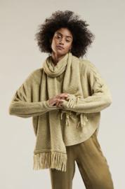 Sjaal mabel khaki