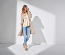 trico lange vest cora gold
