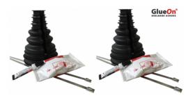 2 stuks GlueOn variabele ashoes 70-80 mm