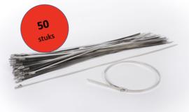 RVS Tie Wrap (50 stuks)