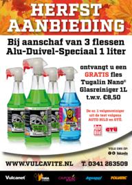 3 x 1000 ml ALU DUIVEL SPECIAAL® + 1L glasreiniger