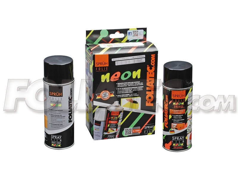 Spray folie neon groen