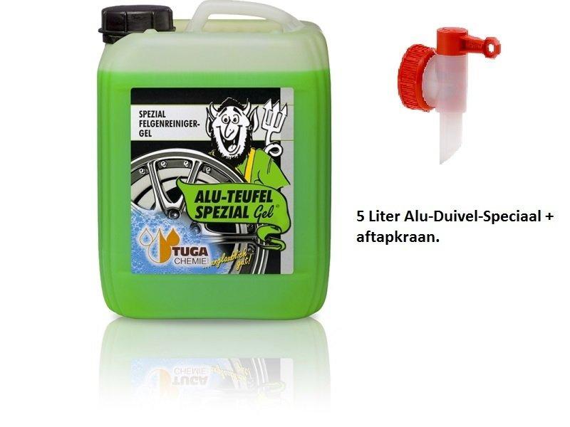 5 Liter ALU DUIVEL SPECIAAL® + aftapkraan