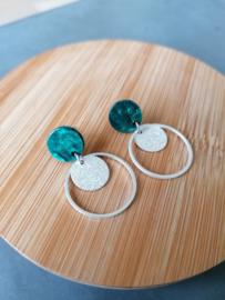 Etoile (turquoise-groen)