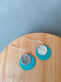 Playa (turquoise-zilver)