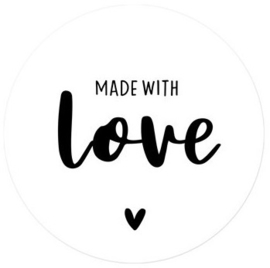 Made with love | 10 Stickers