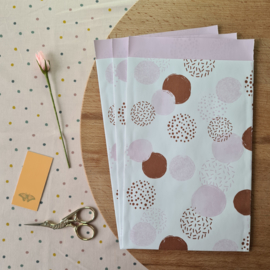 Dots roze | 3 stuks | M