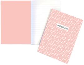 Notebook | Dots roze | A5