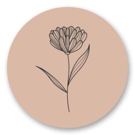 Bloem nude | 10 stickers
