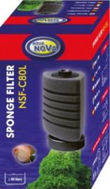 Staand hoeksponsfilter NSF-C80L