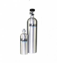 CO² hervulbare fles van aluminium 1 Liter