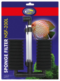 Dubbel sponsfilter NSF-200L