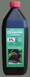 Oxydator oplossing 1 liter 3 %