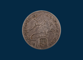 Utrecht: Halve zilveren rijder 1792