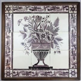 Two flower vases