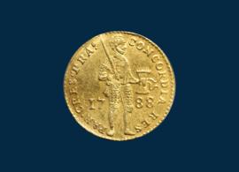 Utrecht: Gold Ducat 1788
