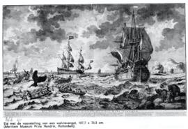 Tegeltableau: De Walvisvaart