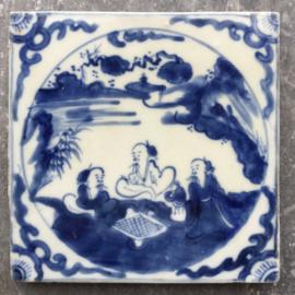Chinees porseleinen tegel, Qianlong