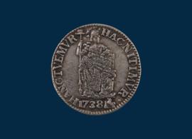Gelderland: 1 Gulden 1738