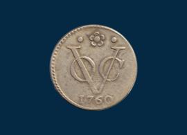 Holland: VOC, half a doit 1760