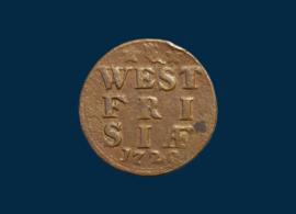 West Friesland: duit 1729