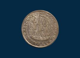Utrecht: Ship shilling 1764