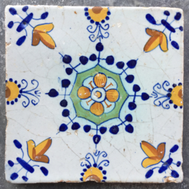 Haarlemmer ornament tegel