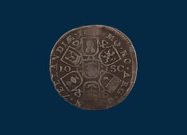 Zeeland: Dubbele daalder van 10 schellingen 1685-93