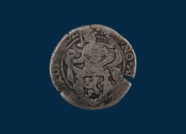 Holland: Halve provinciale Leeuwendaalder 1577