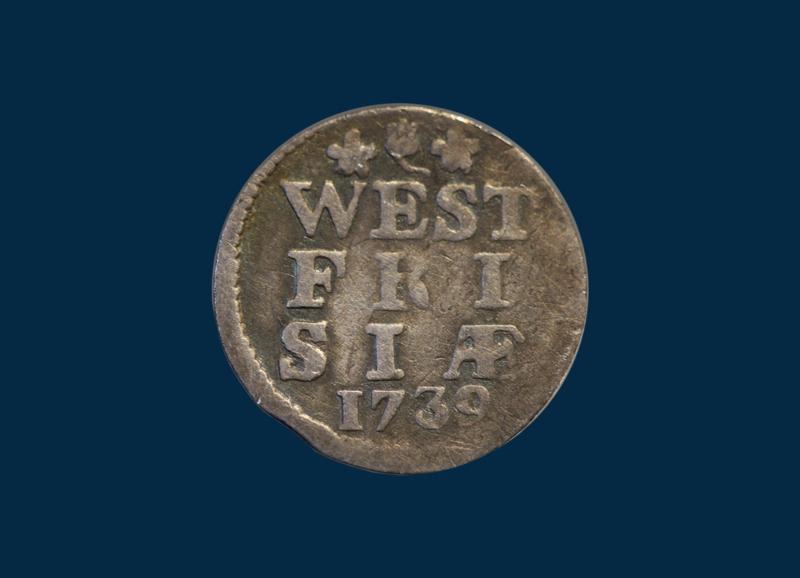 West Friesland: penny 1739