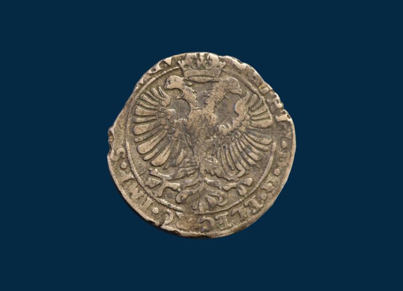 Eagle shilling Kampen, Matthias (1612 - 1619)