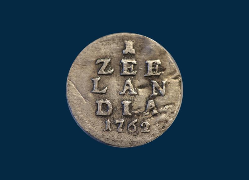 Zeeland: 1 stuiver 1762