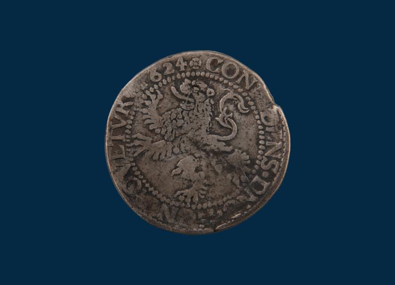 Zeeland: Leeuwendaalder 1624