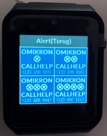 2-Way Pager Omikron CallHelp 500RX2WAY Set