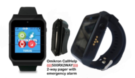 2-Way Pager Omikron CallHelp 500RX2WAY
