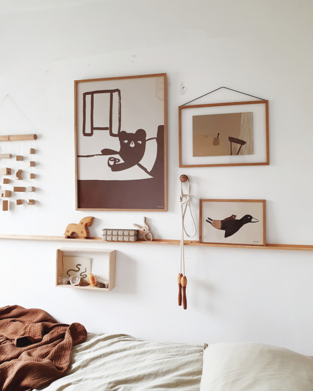 Poster 'Tea in bed'