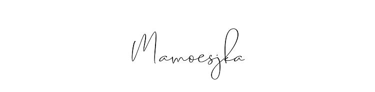 MAMOESJKA