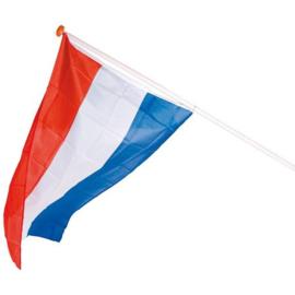 Nederlandse vlag met eigen tekst