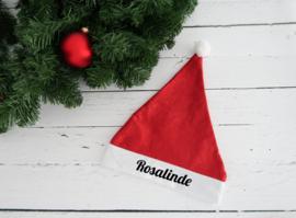 Kerstmuts met naam kind