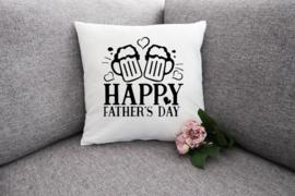 Kussen voor vaderdag