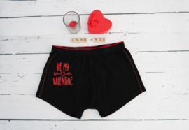 Valentijn boxershort be my valentine