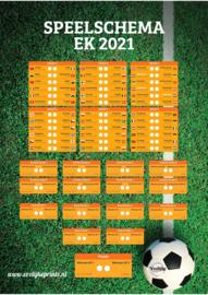 Free printable speelschema EK voetbal 2021