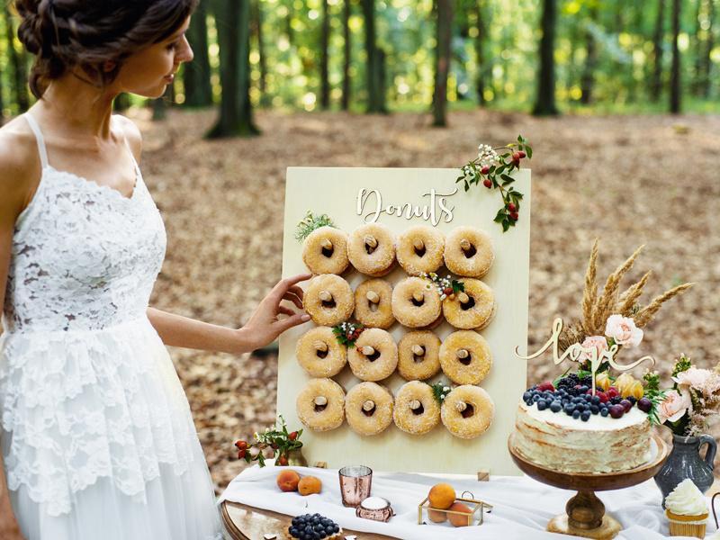 Houten Donut wall