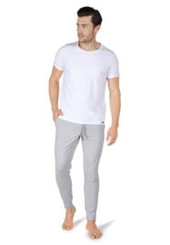 Shirt wit sloungewear | korte mouwen SK