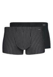 Boxershort 2-pak zwart gestreept | Power line