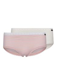 Tiener slips 2 pak Skiny | lovely girls | rose stripe selection