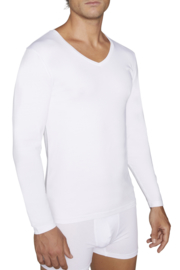 T-shirt YM lange mouwen   wit of zwart