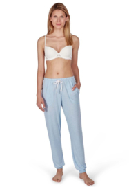 Slaap broek lang fresh blue Huber | 24 hours woman sleep