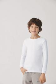 T- shirt kind lange mouwen| Zwart | 100% katoen YM