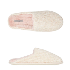 Pantoffels dames creme | Slippers extra zacht